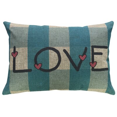 Fincastle Love Linen Throw Pillow