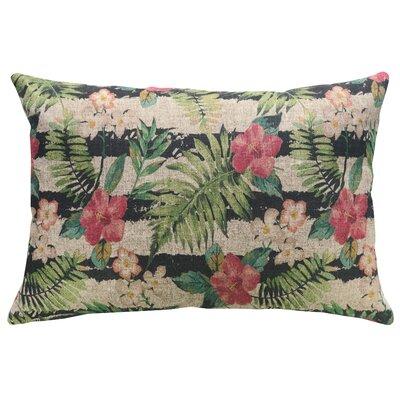 Hadley Tropical Linen Throw Pillow