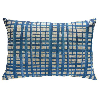 Hoelscher Shibori Stripes Linen Throw Pillow