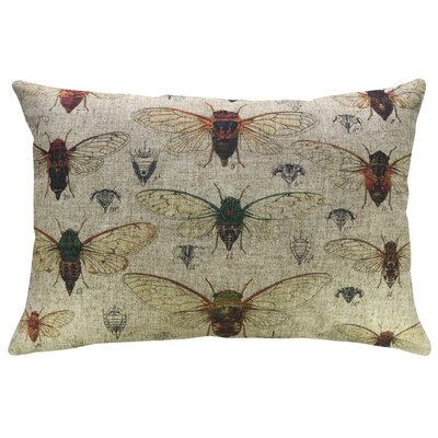 Erazo Insects Linen Throw Pillow