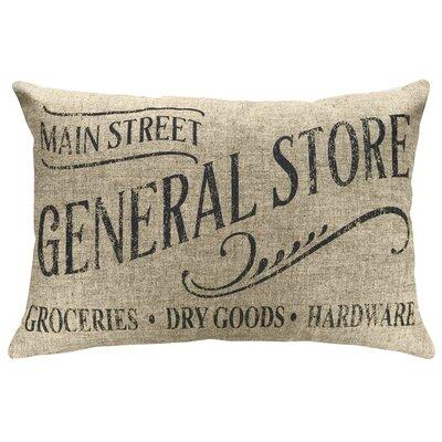 Mcateer General Store Linen Throw Pillow