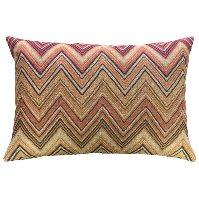 Hoehn Chevron Linen Throw Pillow