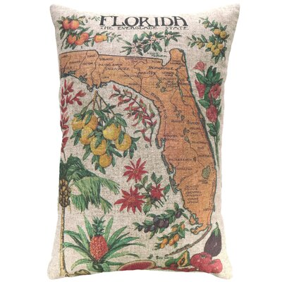 Cianciolo Florida Citrus Linen Throw Pillow
