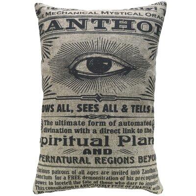 Crofts Spiritual Plane Linen Throw Pillow