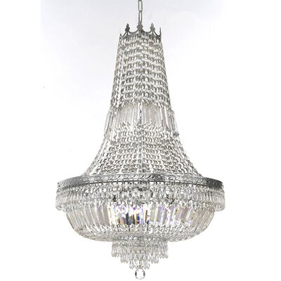 Horowitz 9-Light Empire Chandelier Finish: Silver
