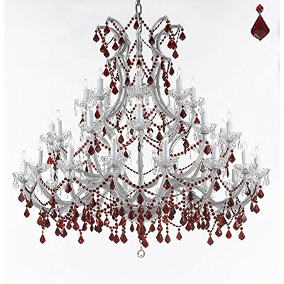 Quade 37-Light Candle-Style Chandelier