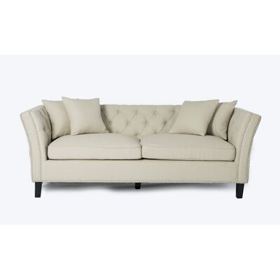 Mcgahey Sofa Upholstery: Ivory