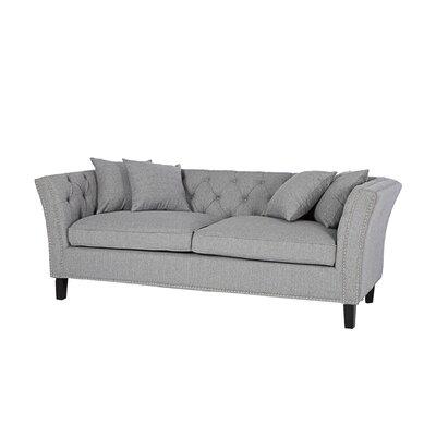 Mcgahey Sofa Upholstery: Silver Gray