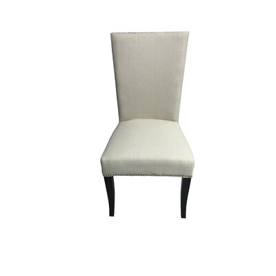Mcgann Upholstered Dining Chair Upholstery Color: Ivory