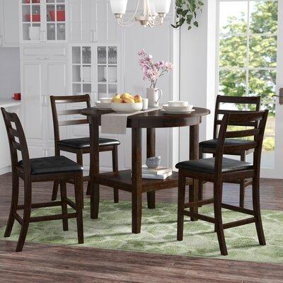 Gosselin 5 Piece Counter Height Dining Set