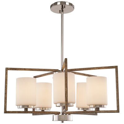 Mabie 5-Light Candle Style Chandelier