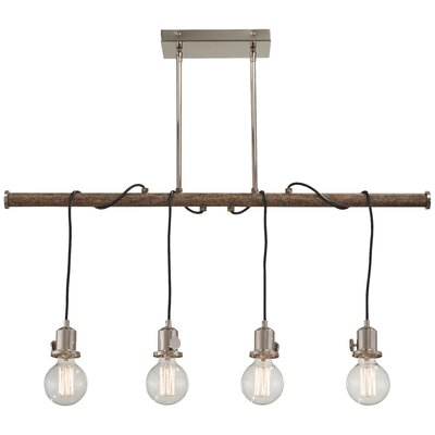 Mabie 4-Light Kitchen Island Pendant