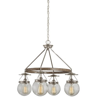 Mabie 4-Light Cluster Pendant