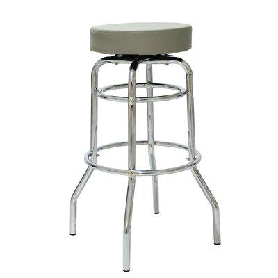 Patin 30.42 Swivel Bar Stool Color: Gray