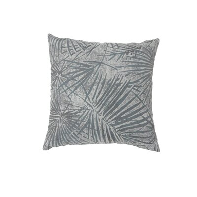 Palmer Coastal Indoor Throw Pillow Size: 18 H x 18 W, Color: Brown