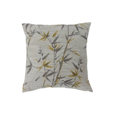 Fergerson Indoor Throw Pillow Size: 18 H x 18 W, Color: Yellow