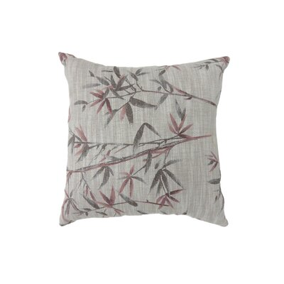 Fergerson Indoor Throw Pillow Size: 18 H x 18 W, Color: Red