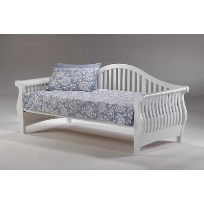 Doyers Kendrick Daybed Frame Color: White