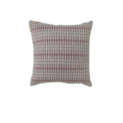 Pagan Bohemian Indoor Throw Pillow Size: 18 H x 18 W, Color: Red