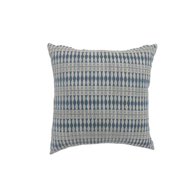 Pagan Bohemian Indoor Throw Pillow Size: 18 H x 18 W, Color: Blue