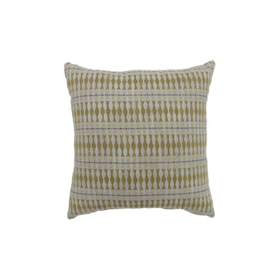 Pagan Bohemian Indoor Throw Pillow Size: 18 H x 18 W, Color: Yellow