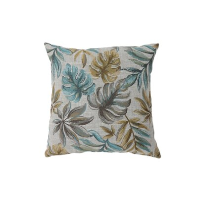 Vanguard Coastal Indoor Throw Pillow Size: 18 H x 18 W, Color: Navy