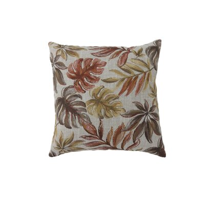 Vanguard Coastal Indoor Throw Pillow Size: 18 H x 18 W, Color: Red