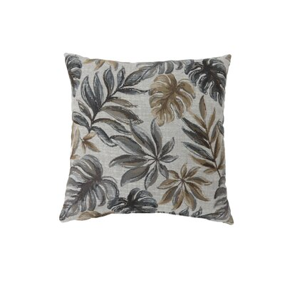 Vanguard Coastal Indoor Throw Pillow Size: 18 H x 18 W, Color: Gray