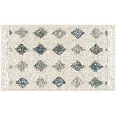 Werth Hand-Tufted IvoryArea Rug Rug Size: Rectangle 5 x 76