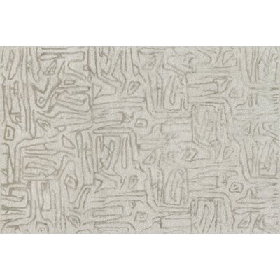 Rusch Hand-Tufted Silver Area Rug Rug Size: Rectangle 93 x 13