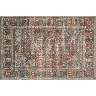 Onderdonk Brown Area Rug Rug Size: Rectangle 76 x 96