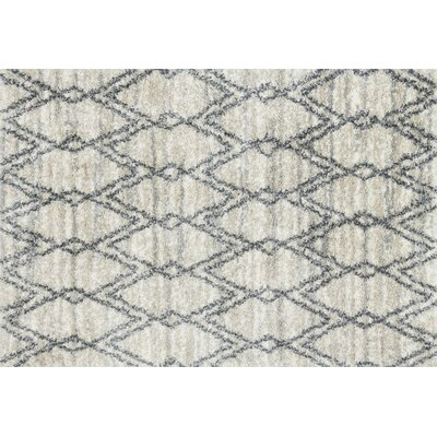 Pauling Sand/Graphite Area Rug Rug Size: Rectangle 53 x 76
