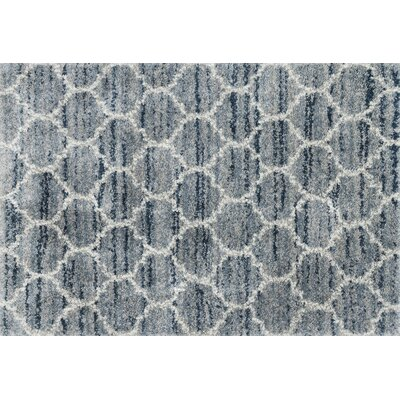 Flaherty Spa/Pebble Area Rug Rug Size: Rectangle 23 x 12