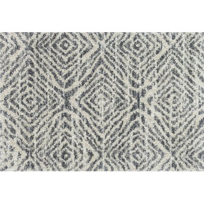 Palmquist Graphite/Sand Area Rug Rug Size: Rectangle 23 x 12