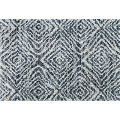 Palmquist Ocean/Pebble Area Rug Rug Size: Rectangle 53 x 76