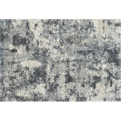 Gimenez Slate Area Rug Rug Size: Rectangle 23 x 12