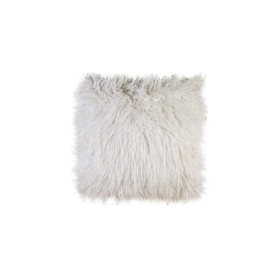 Highgate Indoor Throw Pillow Color: Shaggy White