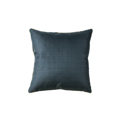 Kutz Indoor Throw Pillow Color: Indigo