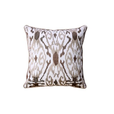 Paille Indoor Cotton Throw Pillow Color: Latte