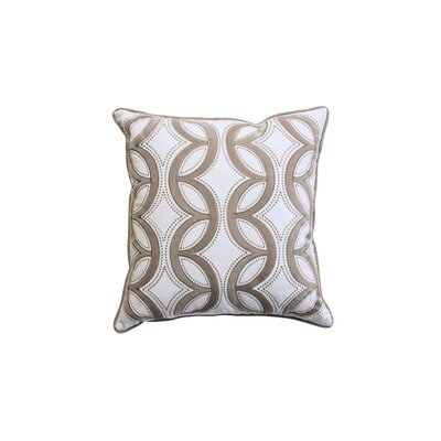 Dreen Indoor Cotton Throw Pillow Color: Latte