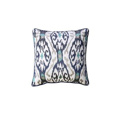 Paille Indoor Cotton Throw Pillow Color: Indigo