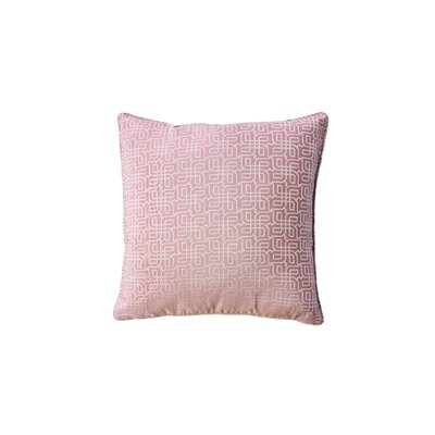 Demaio Indoor Throw Pillow Color: Rose Pink