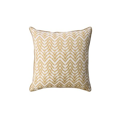 Dimick Indoor Throw Pillow Color: Gold