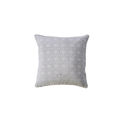 Demaio Indoor Throw Pillow Color: Gray
