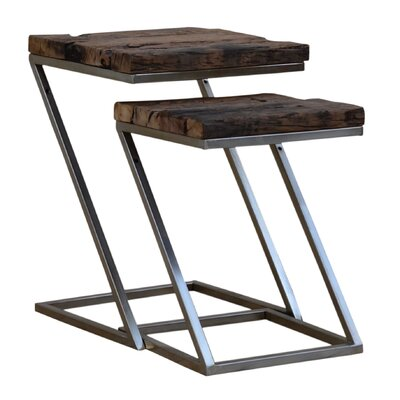 Digennaro 2 Piece Nesting Tables