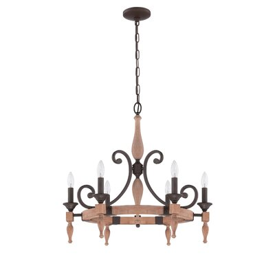 Laforest 6-Light Candle-Style Chandelier