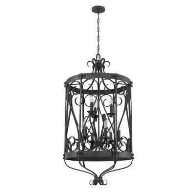 Lafrance 9-Light Candle-Style Chandelier