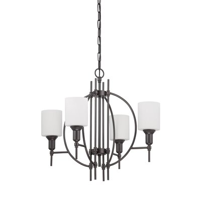 Eidson 4-Light Candle-Style Chandelier