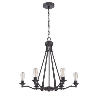 Glennon 6-Light Candle-Style Chandelier