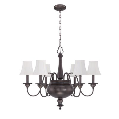 Fuhr 6-Light Candle-Style Chandelier